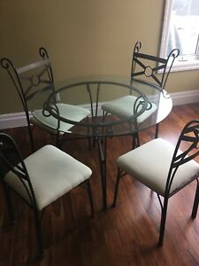 Dinette set- table &  four chairs