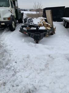 28ft low trailer