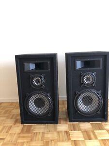 High Efficiency speakers