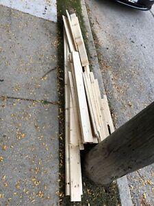 Free scrap wood!