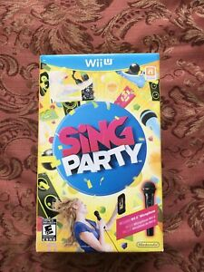 Sing Party Wii U game