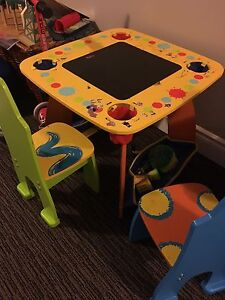 Crayola Wooden Table and Chairs