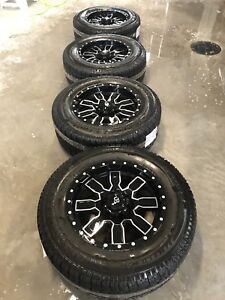 """4 Winter tires on 18"""" Mags for GMC or Chevrolet model!!"""