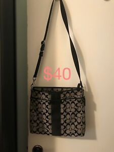Purses, shoes and other items for sale