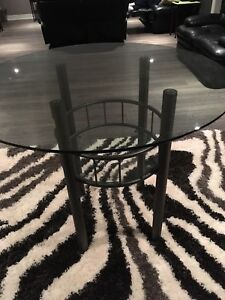 Round Glass Top Table New Price!