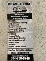 Mobile RV cleaning and detailing
