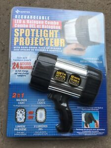 Brand new sealed Rechargeable LED Halogen Spotlight Projector