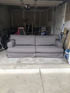 Three seater ikea couch. Fast pick up 250!!