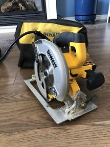 Dewalt corded circular saw 7 1/14""