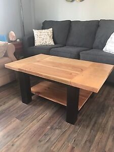 Rustic handcrafted table