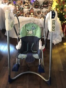 Balançoire bébé évolutive