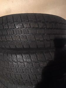 2-215/65R16 Winter Master tires