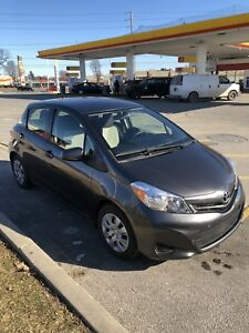 2013 Toyota Yaris LE. 4 door. **LOW KM**
