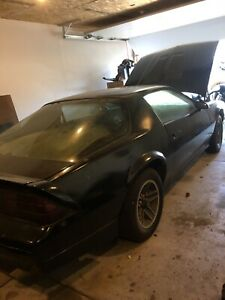 1988 CAMARO PROJECT FOR SALE
