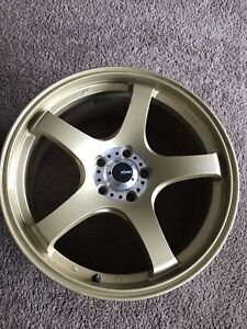 Konig gold rims for sale
