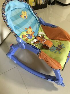 Fisher price 3in1 chair rocker bouncer