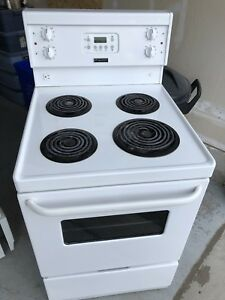 "Frigidaire apartment size stove 24""-can deliver"