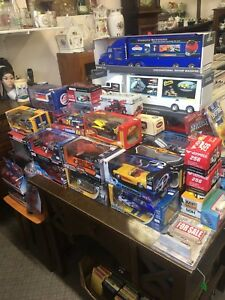 Die cast cars trucks tractors at Penns Antiques