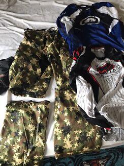 Moto cross moto x adult pants and jerseys thor fox