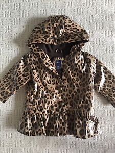 Baby Gap lined raincoat 12-18m