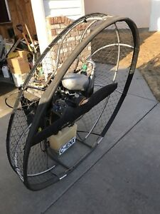 Powered Paramotor with Wing