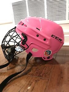 Girls CCM Skating  Hockey Helmet - Small