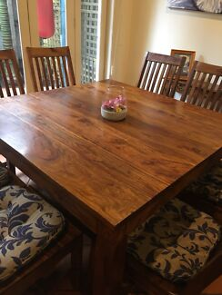dining table and chairs gumtree melbourne. 8-seater dining table and chairs gumtree melbourne