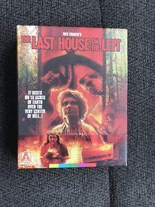 The Last House On The Left Arrow Blu Ray