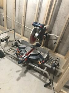 "Bosch 12"" Mitre Saw with Stand"