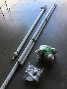White Curtain Rods for sale