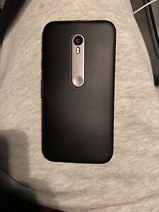 Motorola Moto G3 Factory unlocked Pristine Condition