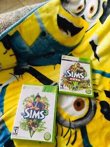 Xbox 360 Sims 3 and Sims 3 Pets