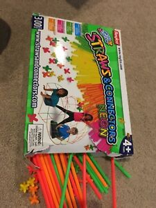 Straws and connectors - let their creativity run wild!