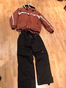 Complete  alpine ski suit top and bottom by Avalanche