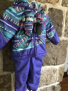 Like New Girls Jupa Snowsuit size 3T