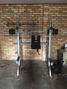 Squat rack / bench press, chin up / dip station + MORE Zillmere Brisbane North East Preview