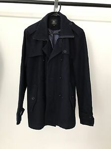 Navy Blue Trench Coat size S Newcastle Newcastle Area Preview