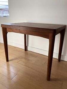Table de chevet d'appoint side table teak teak mid century mcm