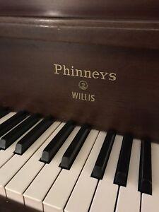 Phinney's Willis piano