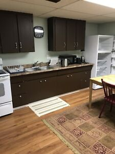Basement suite for rent (immediately available)