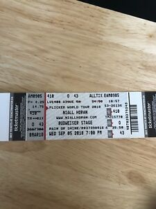 Niall Horan ticket for sale!