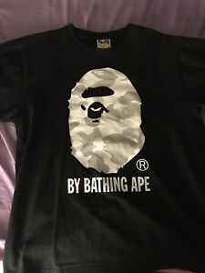 Bape Glow in the Dark Camo tee