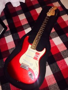 Squire Strat Guitar and Traynor Amp