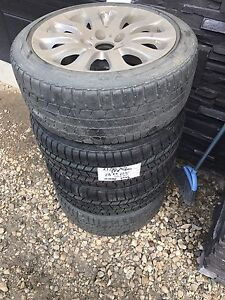 BMW 328i rims and winter tires