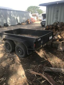 Tandem trailer heavy duty