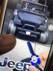 $50 toy battery jeep kids no battery and no charger
