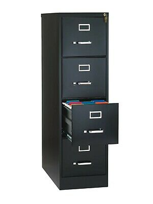 Metal File Cabinet 4 Drawer Vertical Office Furniture Local Pick Up Only - Read