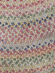 Soft braided area rugs