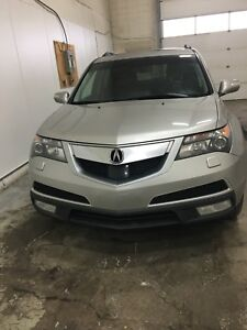 2011 ACURA MDX ELITE PACKAGE!!! 1 OWNER, ACCIDENT FREE
