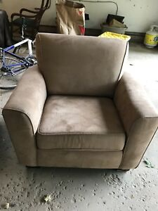 Matching club chair and couch for sale